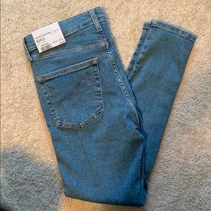 Topshop Jamie jeans, never worn!